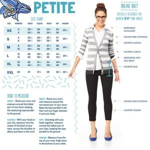 PETITE size outfits
